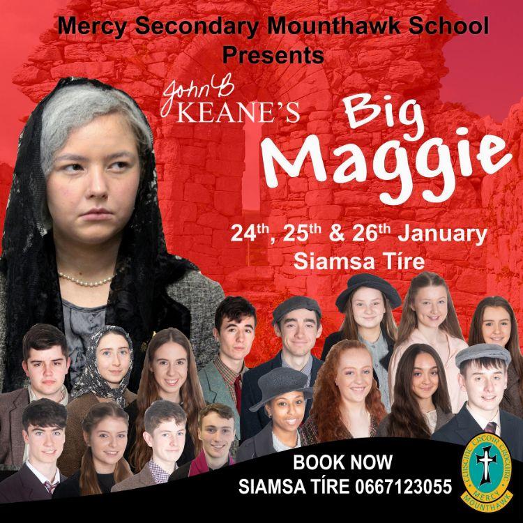 Banner Big Maggie banner smaller