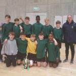 1st yr FUTSAL MUnster winners