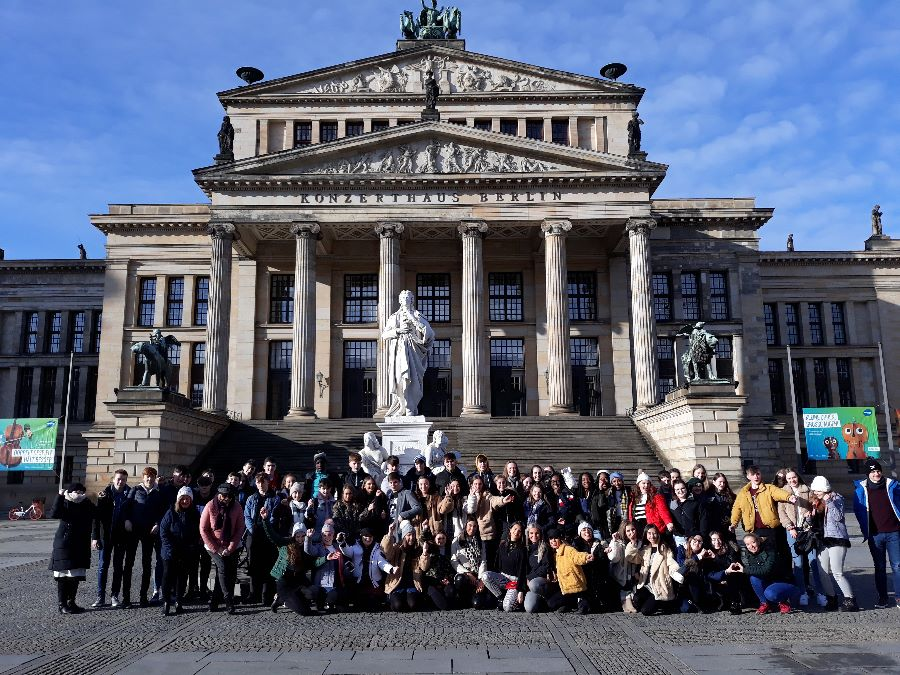 TY's at the Reichstag, February 2019