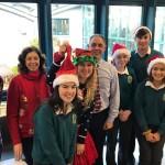Christmas Staff v's Students