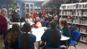 Library Launch with Poet Lola Scollard