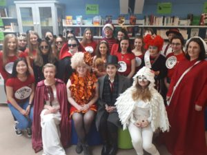 Dressing up to Celebrate Literature for our Library revamp