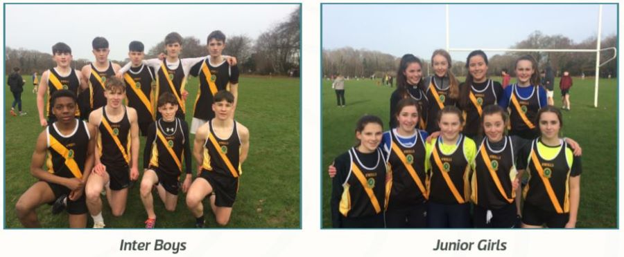 Inter Boys and Junior Girls Screen Grab from Yearbook