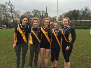 Junior Girls Cross Country Team