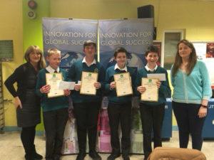 Junior Science quiz Winners Kerry ISTA
