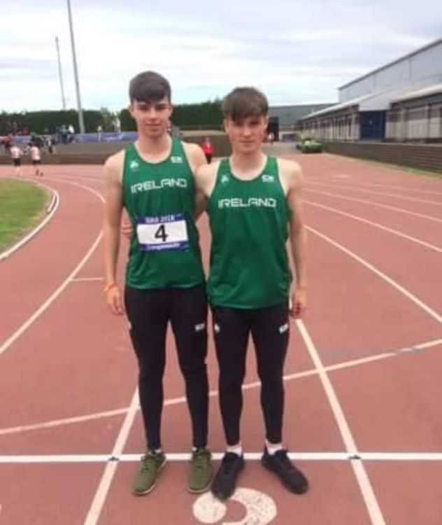 Luke O Carroll and Cillian Griffin
