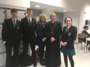 Margaret Leen, Adam Butler, Mary O Connell, David Fitzgerald with Archbishop Martin @ Ceist Conference