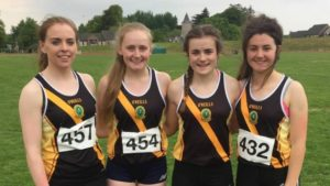 Senior Girls Relay Team