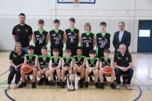 U. 15 Boys Schools Cup winners School Photo