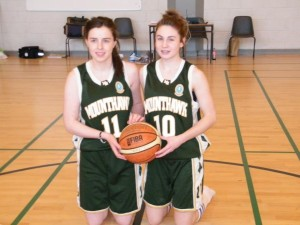 Courtney Ryan, Irish under 16 team 2013 in the European championships in Spain and Laura Rogers, Ireland under 17 team in the European championships in Switzerland.