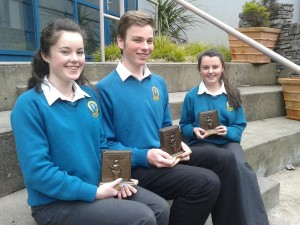 Regional Winners 2014 (Gael Linn debating competition)