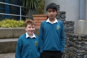Eoghan Bradshaw and Biye Guo