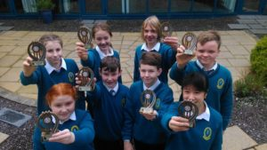 First Year Maths Quiz winners: Jennifer slattery,Coren Hughes,Mengyao Ni,Jack Doyle,Jason Norris,Eva Nolan,Paula Holmes and Conor Enright